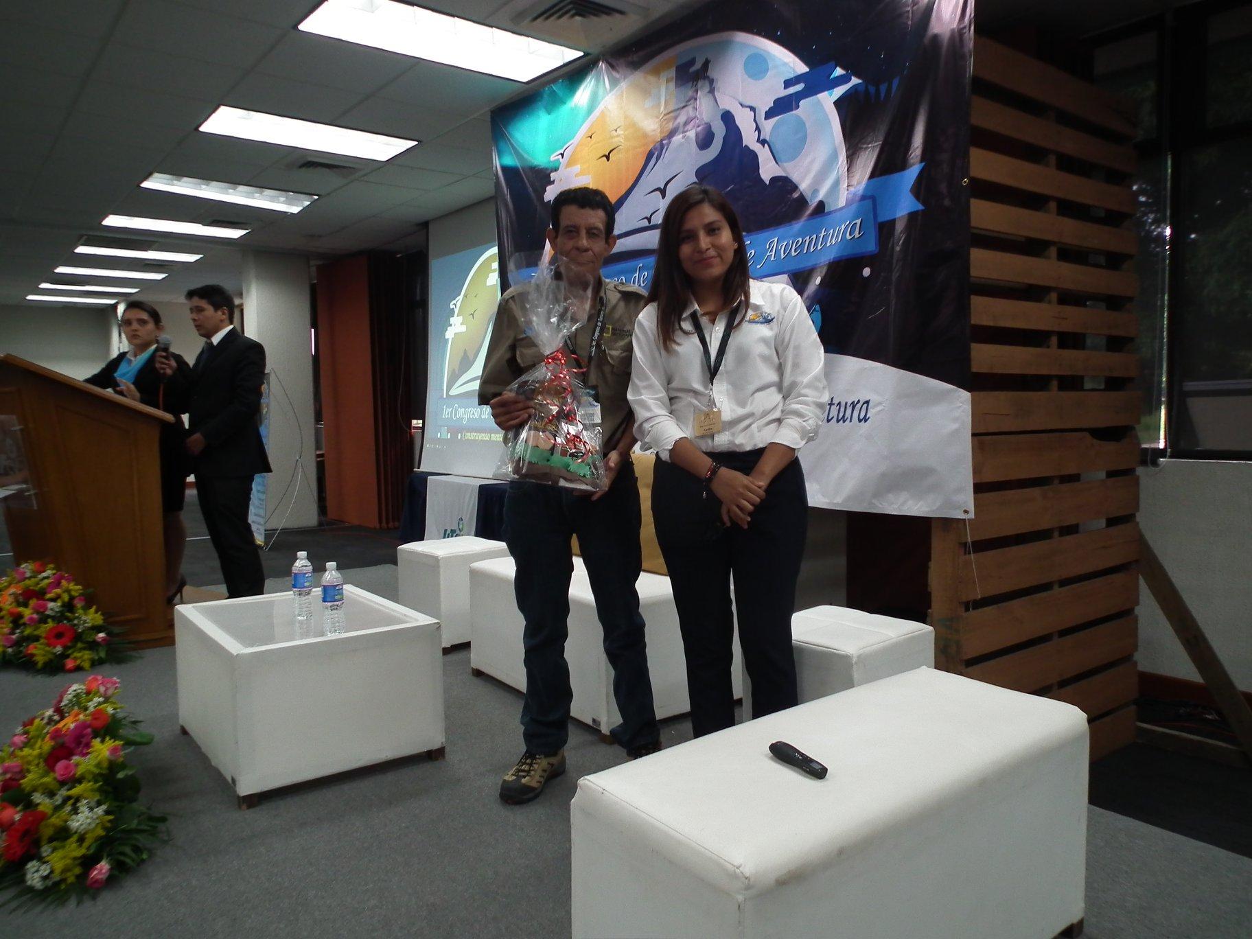 1er. Congreso de Turismo de Aventura organizado por los alumnos de turismo 8° de la UTCV campus Cuitláhuac, Ver. Viernes 13 de Abril del 2018